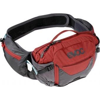 Evoc Pro 3Ltr 1.5Ltr Hydration Hip Pack Carbon Grey/Chilli Red