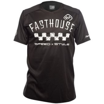Fasthouse Alloy Nelson SS Jersey Black 2021
