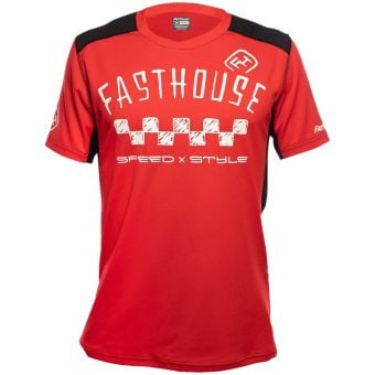 Fasthouse Alloy Nelson SS Jersey Red 2021