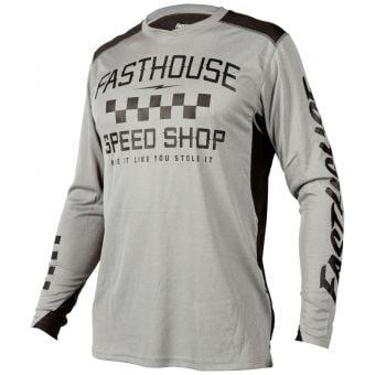 Fasthouse Alloy Roam LS Jersey Heather Grey 2021