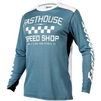 Fasthouse Alloy Roam LS Jersey Heather Slate 2021