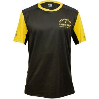 Fasthouse Alloy Star SS Youth Jersey Black/Gold 2021