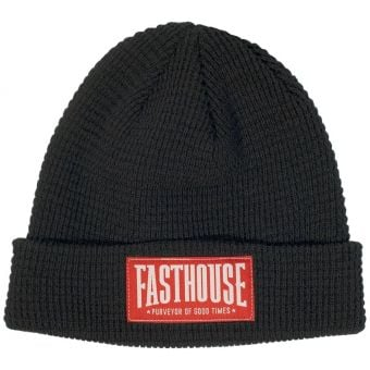 Fasthouse Brawler Knitted Beanie Black