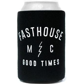 Fasthouse Custom Shop Koozie Drink Cooler Black