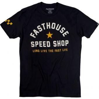 Fasthouse Fast Life Short Sleeve T-Shirt Black 2021
