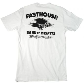 Fasthouse Keeper SS T-Shirt White 2020
