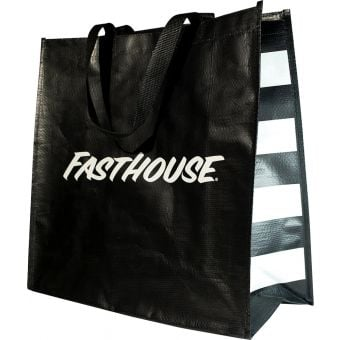 Fasthouse Reusable Tote Bag Black/White