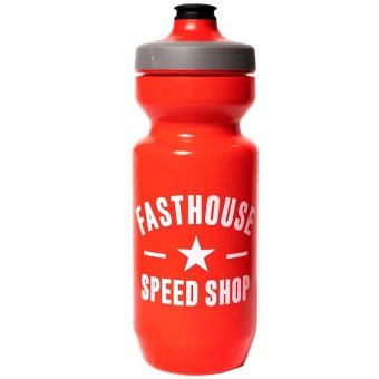 Fasthouse Speed Shop 650ml Water Bottle Red