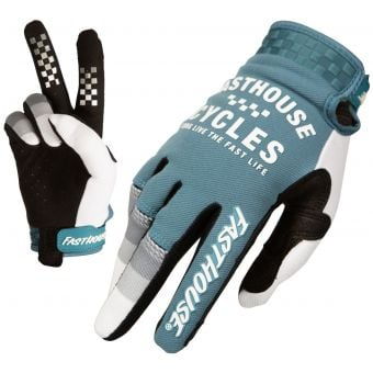 Fasthouse Speed Style Pacer Gloves Slate/White 2021