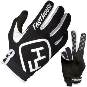 Fasthouse Speed Style Youth MTB Gloves Black/White 2019