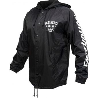 Fasthouse Team Coach Jacket Black 2021