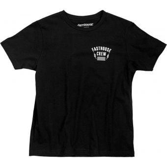 Fasthouse Team Short Sleeve T-Shirt Black 2021