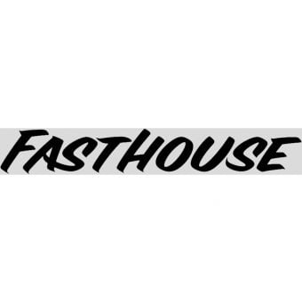 "Fasthouse 30"" Vinyl Decal Black"