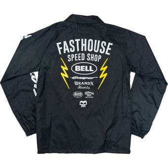 Fasthouse Youth Team Coach Jacket Black 2021