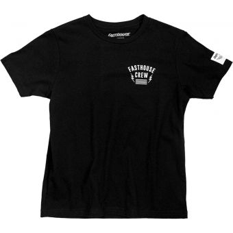 Fasthouse Youth Team Short Sleeve T-Shirt Black 2021