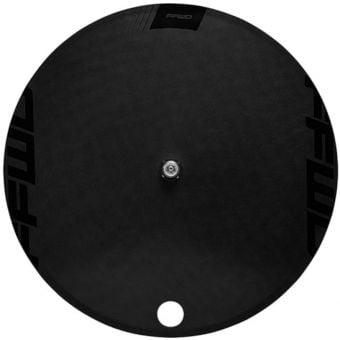 FFWD Disc-T Carbon Tubular Track Rear Wheel Black