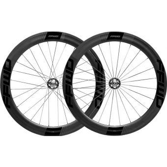 FFWD F6T Carbon Tubular Track Wheelset Black