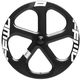 FFWD Five-T Carbon Tubular Track Front Wheel White