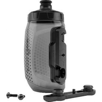 Fidlock 450ml Drink Bottle Twist and Bike Base Set Black