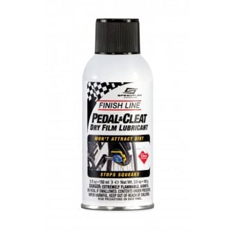 Finish Line Pedal and Cleat Dry Film Lubricant 150ml
