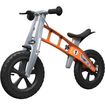 FirstBIKE Cross Balance Bike with Brake Orange