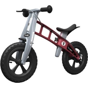 FirstBIKE Cross Balance Bike with Brake Red