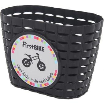 FirstBIKE Handlebar Basket Black