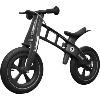 FirstBIKE Limited Edition Balance Bike with Brake Black
