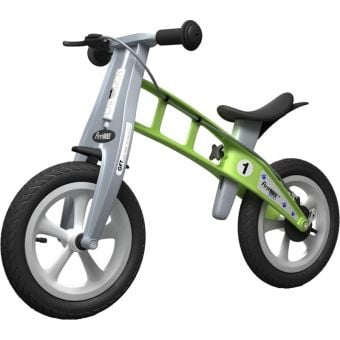 FirstBIKE Street Balance Bike with Brake Green