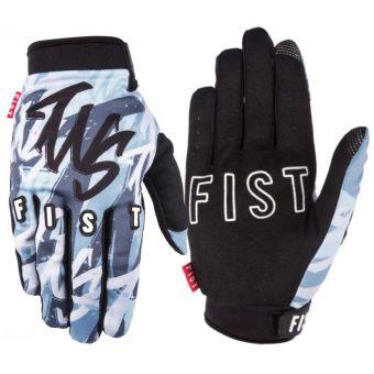 Fist The Webbie Show Snow Camo Gloves