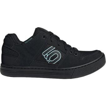 Five Ten Adidas FreeRider Womens Pro MTB Shoes Core Black/Acid Mint/Core Black