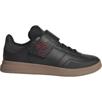 Five Ten Adidas Sleuth Deluxe Kids MTB Shoes Black/Scarlet/Grey