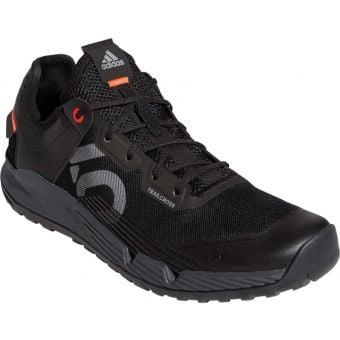Five Ten Adidas Trailcross LT MTB Shoes Black/Grey/Red