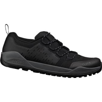 Fizik Terra X2 Ergolace Flat e-MTB Shoes Black/Black