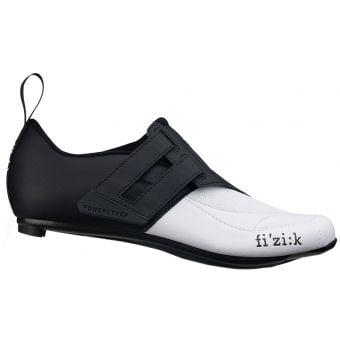 Fizik Transiro R4 Powerstrap Triathlon Shoes Black/White