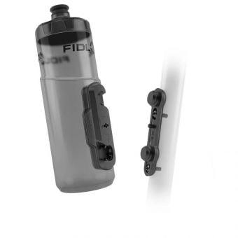 Fidlock 600ml Drink Bottle Twist and Bike Base Set Black