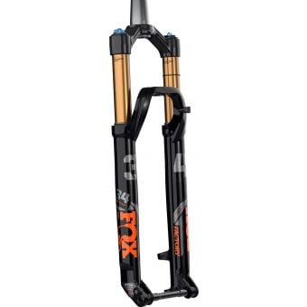"Fox 34 Kashima FLOAT 29"" Factory SC 120mm Kabolt 110 1.5T with 51mm Rake Suspension Fork 2021 Black/Orange"