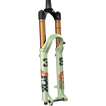 "Fox 38 Kashima FLOAT 27.5"" Factory 170mm Kabolt-X 110 1.5T with 44mm Rake Suspension Fork 2021 Pistachio/Black"