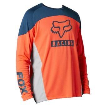 Fox Defend LS MTB Jersey Atomic Punch 2021