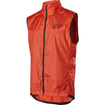 Fox Defend Wind Vest Orange Crush 2020