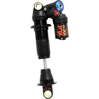 Fox DHX2 Factory Chromoly 230x57.5mm 2 Pos-Adj Shock 2021 Black/Orange Logo