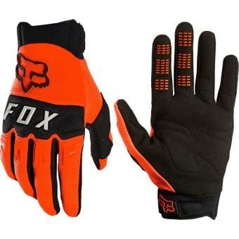 Fox DirtPaw Gloves Fluro Orange 2021