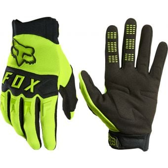 Fox DirtPaw Gloves Fluro Yellow 2021