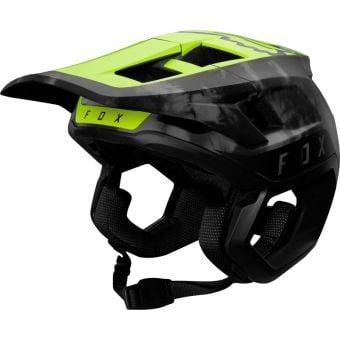 Fox Dropframe Elevated Pro MTB Helmet Day Glow Yellow