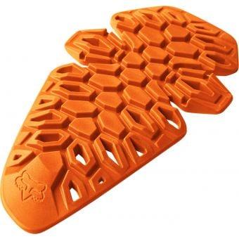 Fox F3 D3 Knee Inserts Orange One Size