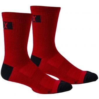 "Fox Flexair 6"" Merino Socks Chili Red 2021"