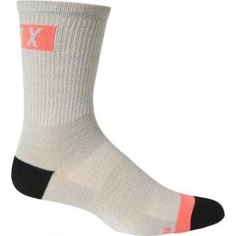 """Fox Flexair 6"""" Merino Socks Light Grey 2021"""
