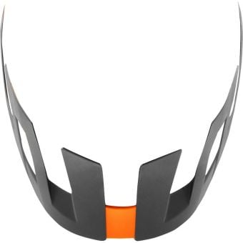 Fox Flux Helmet Visor Solid Orange Crush 2020