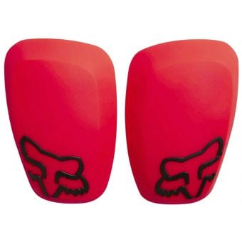 Fox Launch Pro Replacement D3O Elbow Guard Hard Caps Red