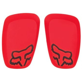 Fox Launch Pro Replacement D3O Knee Guard Hard Caps Red